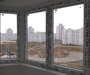 Балконная рама из ПВХ. Марьина Горка. №10