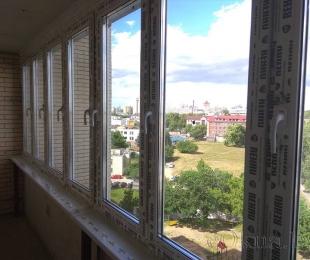 Балконная рама из ПВХ. Марьина Горка. №11