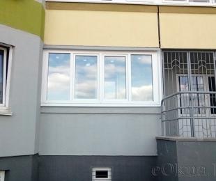 Балконная рама из ПВХ. Марьина Горка. №3