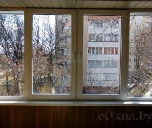 Балконная рама из ПВХ. Марьина Горка. №7