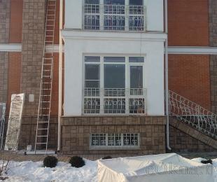 Пластиковые окна в частном доме. Марьина Горка. №6