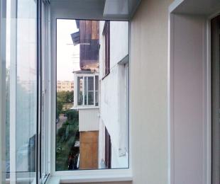 Балконная рама из алюминия. Марьина Горка. №3