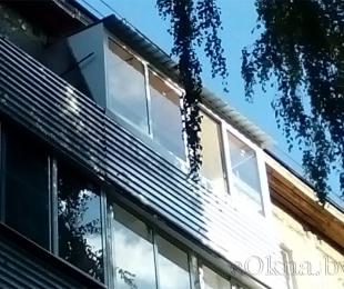 Балконная рама из алюминия. Марьина Горка. №6