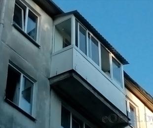 Балконная рама из алюминия. Марьина Горка. №4