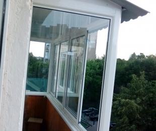 Балконная рама из алюминия. Марьина Горка. №5