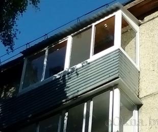 Балконная рама из алюминия. Марьина Горка. №7